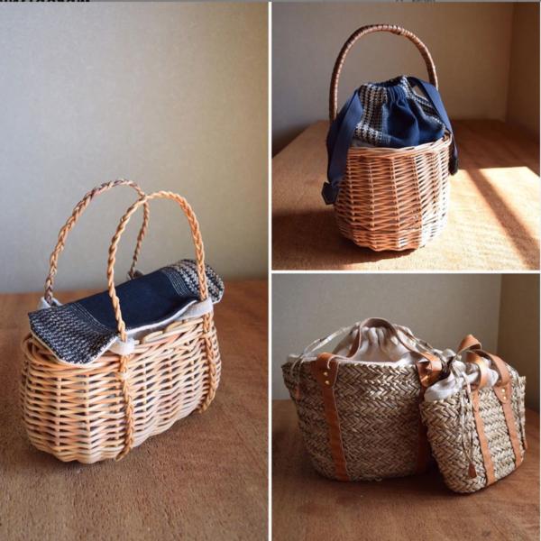 古木裕子さんの「初夏のカゴに寄り添う布小物」展のお知らせ